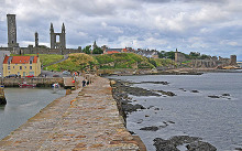 Saint Andrews from the Long Pier, Fife © Dr Richard Murray