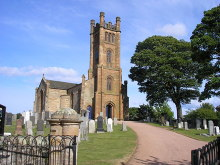 Kilconquhar Church, Fife © Sandy Gemmill